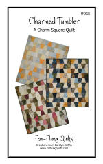 Charmed Tumbler Quilt Pattern  (click to enlarge)