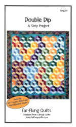 Double Dip Quilt Pattern  (click to enlarge)