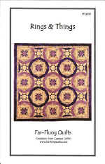Rings And Things Quilt Pattern  (click to enlarge)