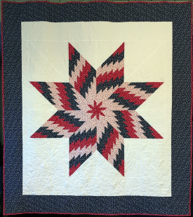 Easy QOV Star Quilt  (click to enlarge)